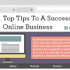 top business tips infographic